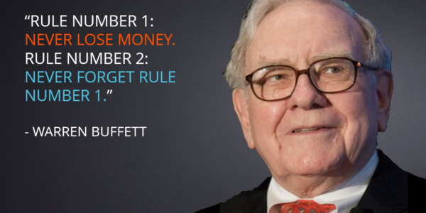 Warren Buffett first rule
